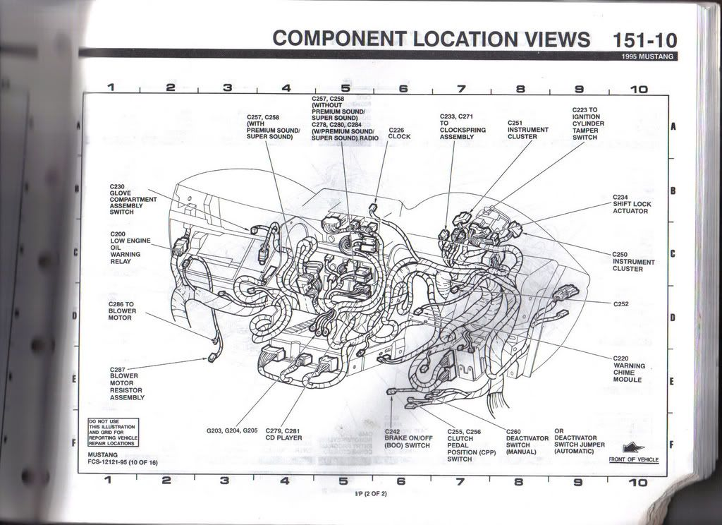 1995 Mustang Wiring Harness Wiring Diagram Forward