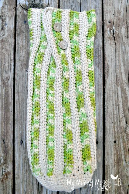 Crochet Baby Cocoon - free crochet pattern and tutorial | Patrones ...