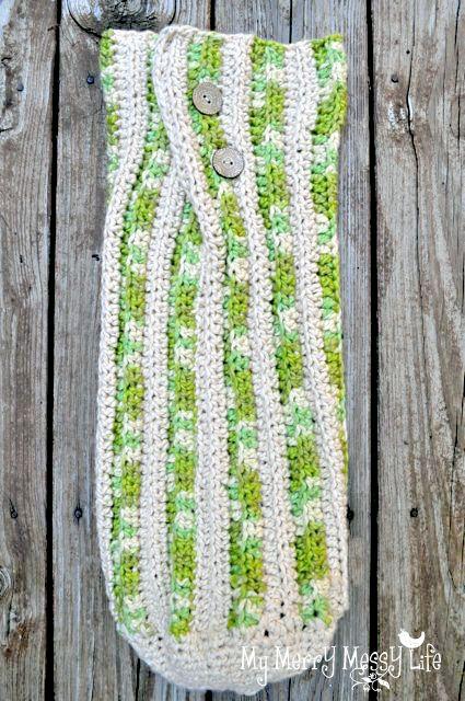 Crochet Baby Cocoon - free crochet pattern and tutorial | Crochet ...