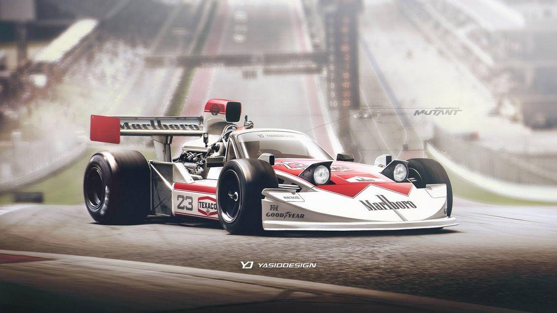 Yassiddesign trasforma, insieme alla sua community, una MX-5 in Formula 1