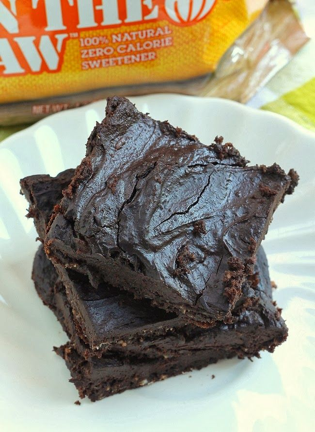 Monk Fruit In The Raw Frosted Chocolate Brownies