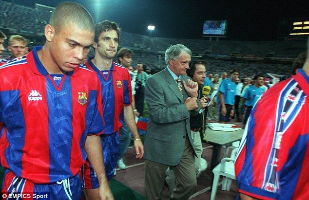 The late Sir Bobby Robson had Ronaldo in his ranks while he was Barcelona boss | Fútbol, Muerte