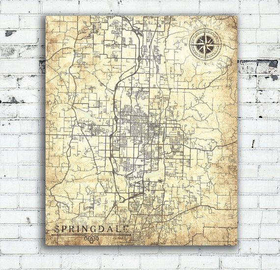 ARVADA CO Canvas Print Colorado Vintage City map Wall Art Colorado