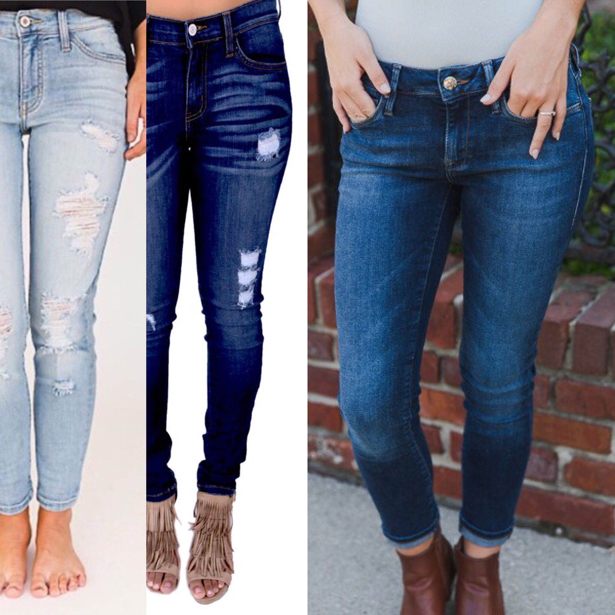 Looking for a perfect pair of jeans that fit your Petite frame? Girl, we've got you! Perfect length, amazing quality! ✨✨
