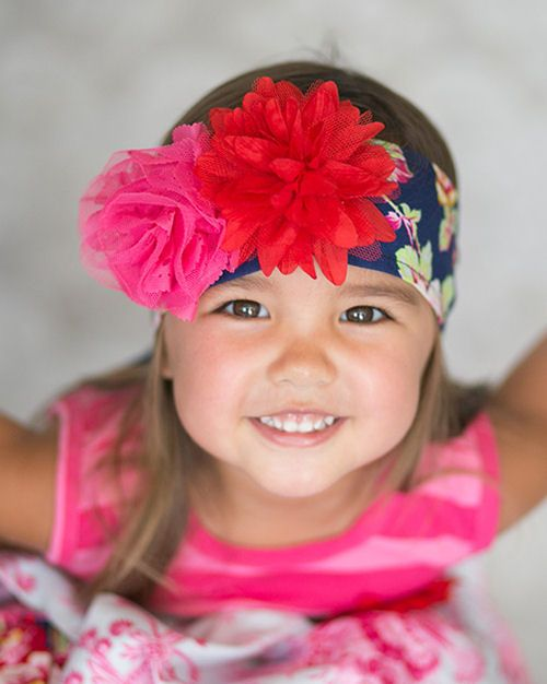 Giggle Moon Pure in Heart Headwrap for Girls PREORDER