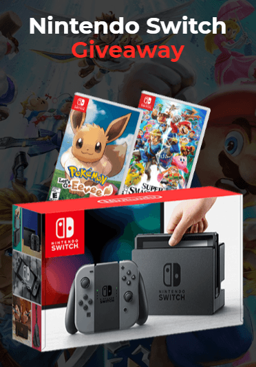 Nintendo Switch Giveaway (Open) - May, 2019 in 2019 | Giveaway