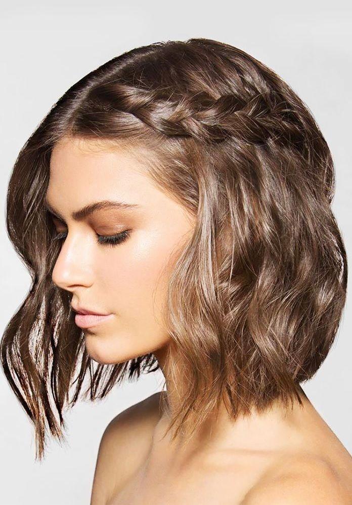 Coiffure pour cheveux court noel