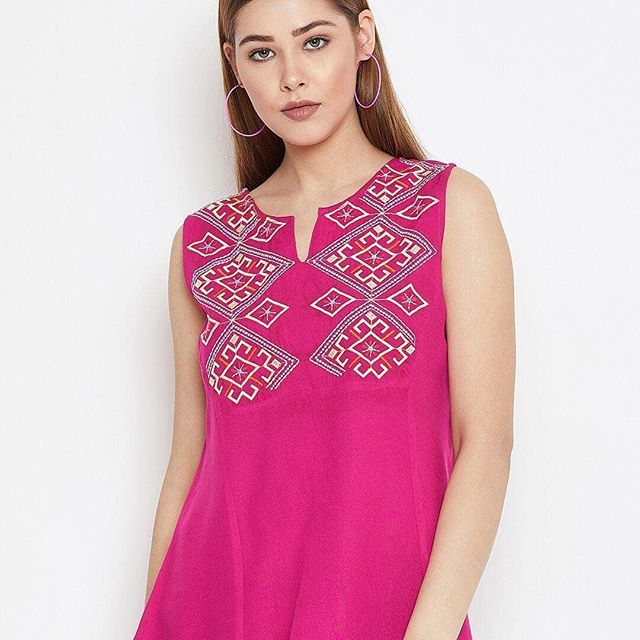 Womens Embroidery Rayon Top To Purchase DM Me #womenswear #fashion #womensfashion #newcollections  W...
