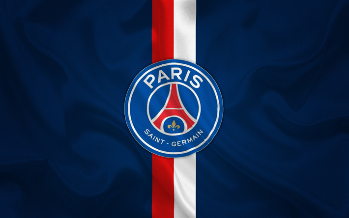 Download Wallpapers Paris Saint Germain Psg Emblem Psg Logo