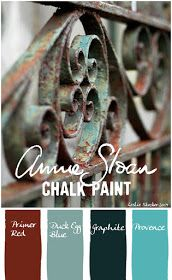 Use ASCP to create this rusted verdigris finish