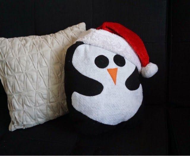 Weekend Diy Penguin Pillow Penguin Craft Pillows Owl Pillow
