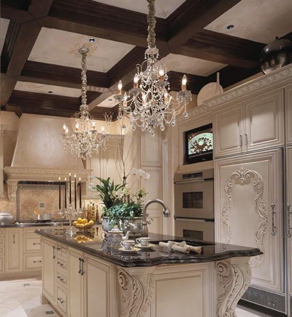 die besten 25 cremefarbene k chen ideen auf pinterest schwarzer granit k che helle. Black Bedroom Furniture Sets. Home Design Ideas