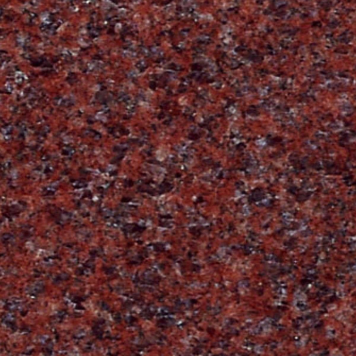 Dark Red Granite With Tiny Flecks Of Dark Blue Light Red