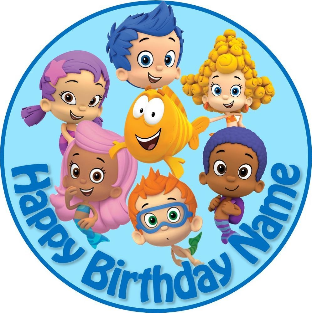 50+ Bubble guppies cake toppers ideas