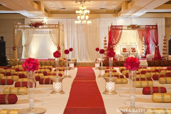 Woburn Ma Indian Fusion Wedding By Binita Patel Photography Receptions Themes Red And Hindus