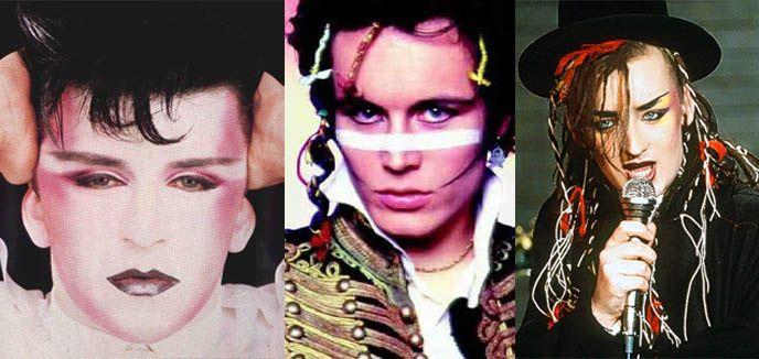 History Of The Dandy Flamboyant Flaneur Male Fashion From Rococo Wigs To New Romantic Steampunk Neo Victoriana La Carmina Blog Alternative Fashion Go New Romantics Romantic Makeup 1980s Makeup