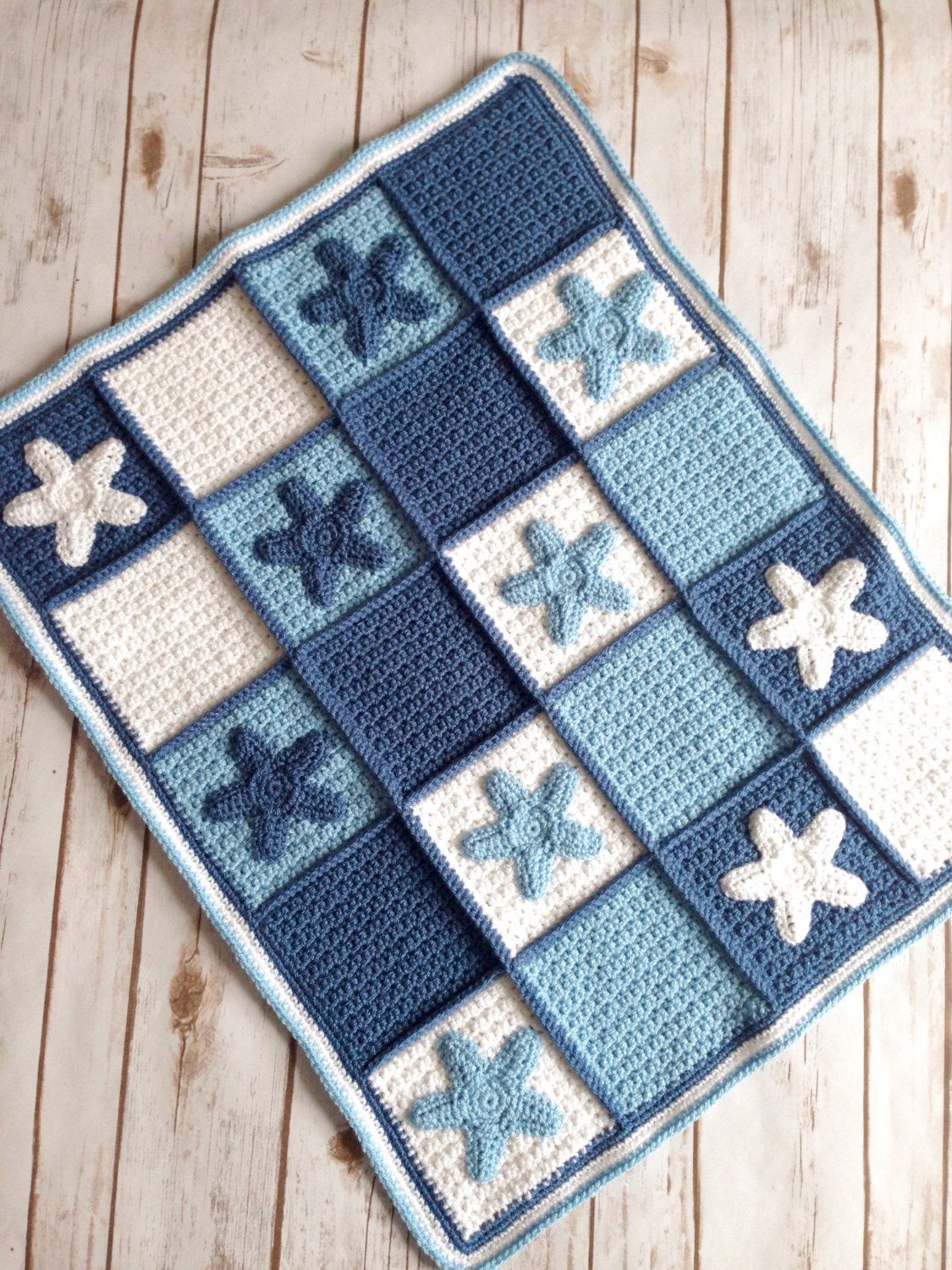 Nautical baby blanket, appliqué blanket, baby boy blanket, stroller ...
