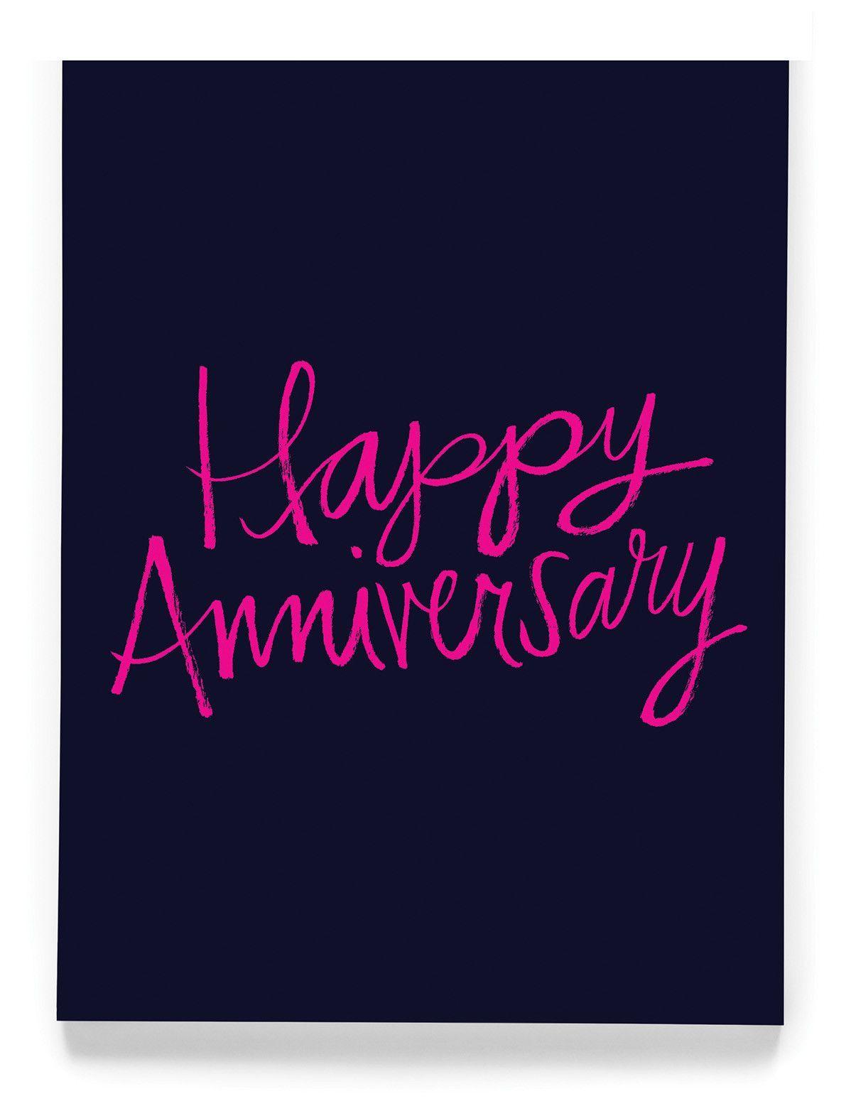 Happy Anniversary Greeting Card Anniversary greeting