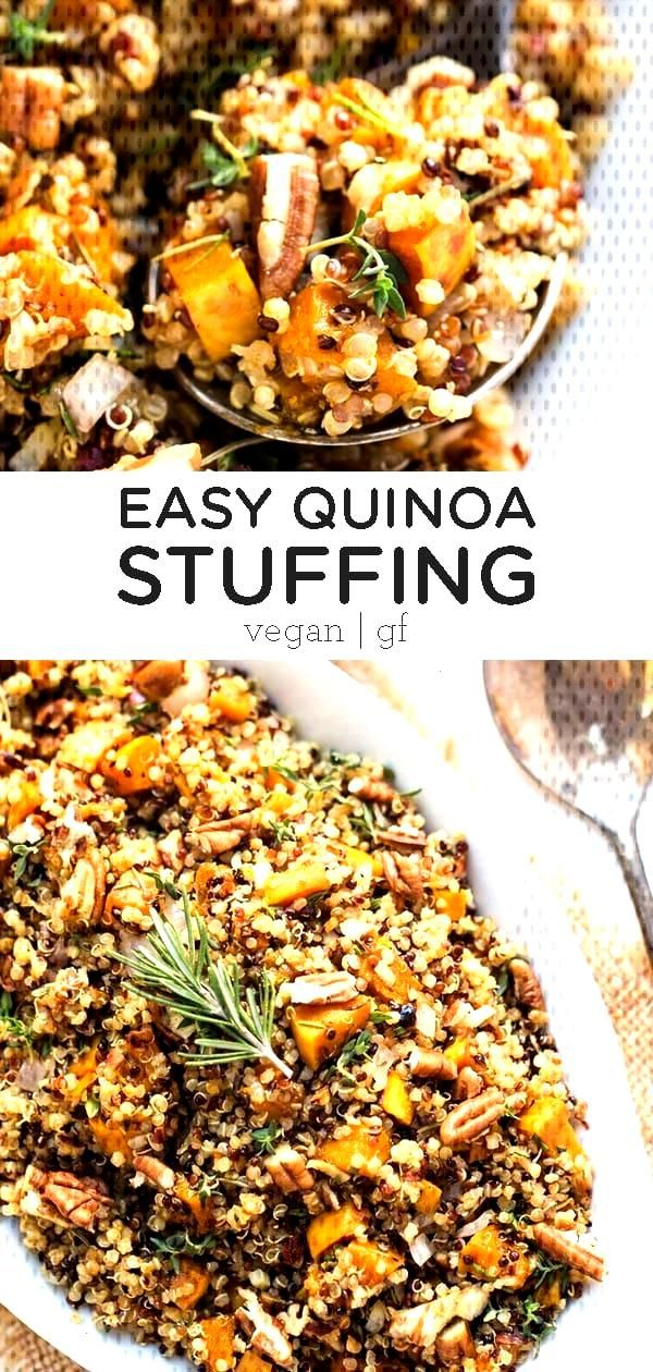 Easy Quinoa Stuffing Recipe - Simply Quinoa - Alyssa | Simply Quinoa - Easy Quinoa Stuffing Recipe