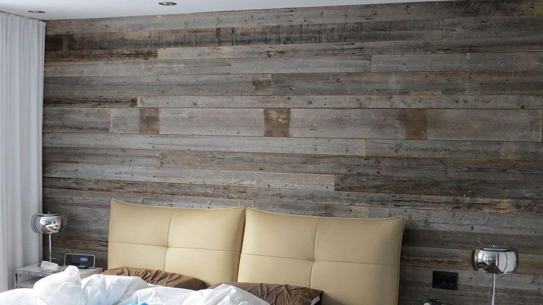 Le bois de grange a une couleur int ressante mur bois grange pinterest - Latte en bois pour mur ...