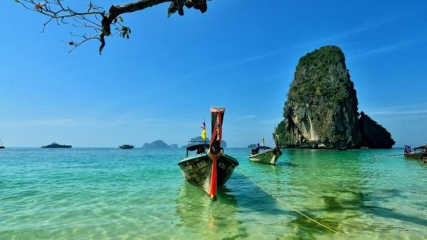 Railay beach, Thailand - HD Wallpapers | 100% Quality HD Desktop Wallpapers ( (High Definition) HD Picture free Download