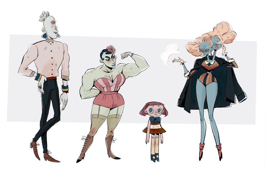 Character Design Challenge Tumblr : Easier said than done ★ character design references