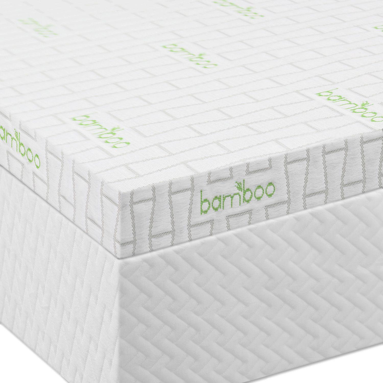 """2.5"""" Ventilated Memory Foam Mattress Topper"""