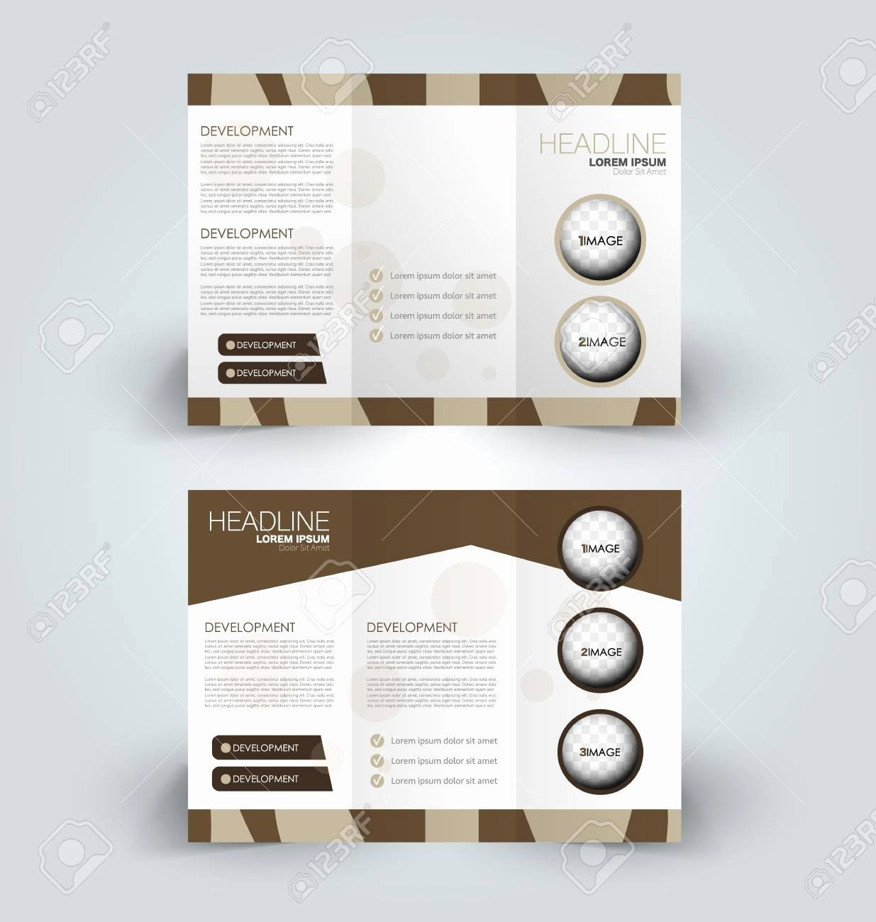Folded Business Cards Template Beautiful Brochure Mock Up Design Template For Business Education Advertisement Folded Business Cards Card Template Templates