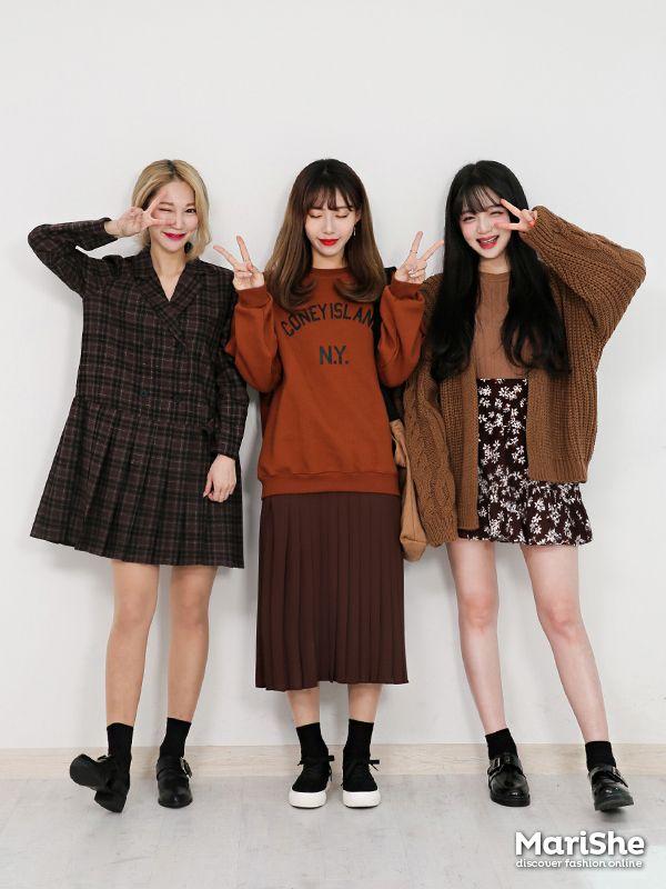 K Daily 2016 Marishe Mt Girlfriend Look G Friends Look Pinterest Girlfriends Korean And