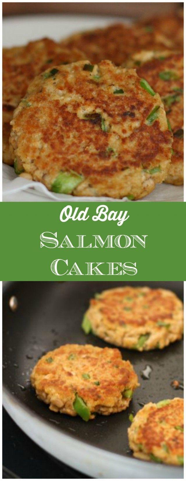 Old Bay Salmon Cakes Recipe Easy Family Dinner Recipes