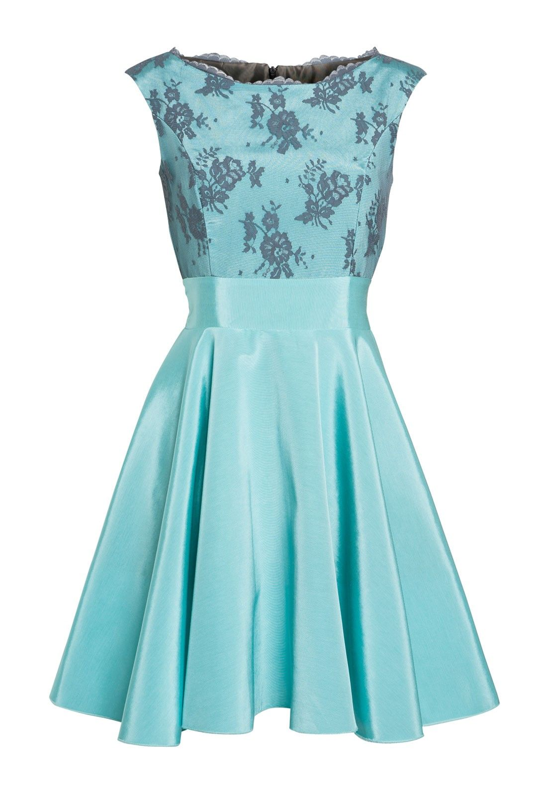 Kate Fearnley Pippa Dress in Duck Egg Blue | Ladies day | Pinterest