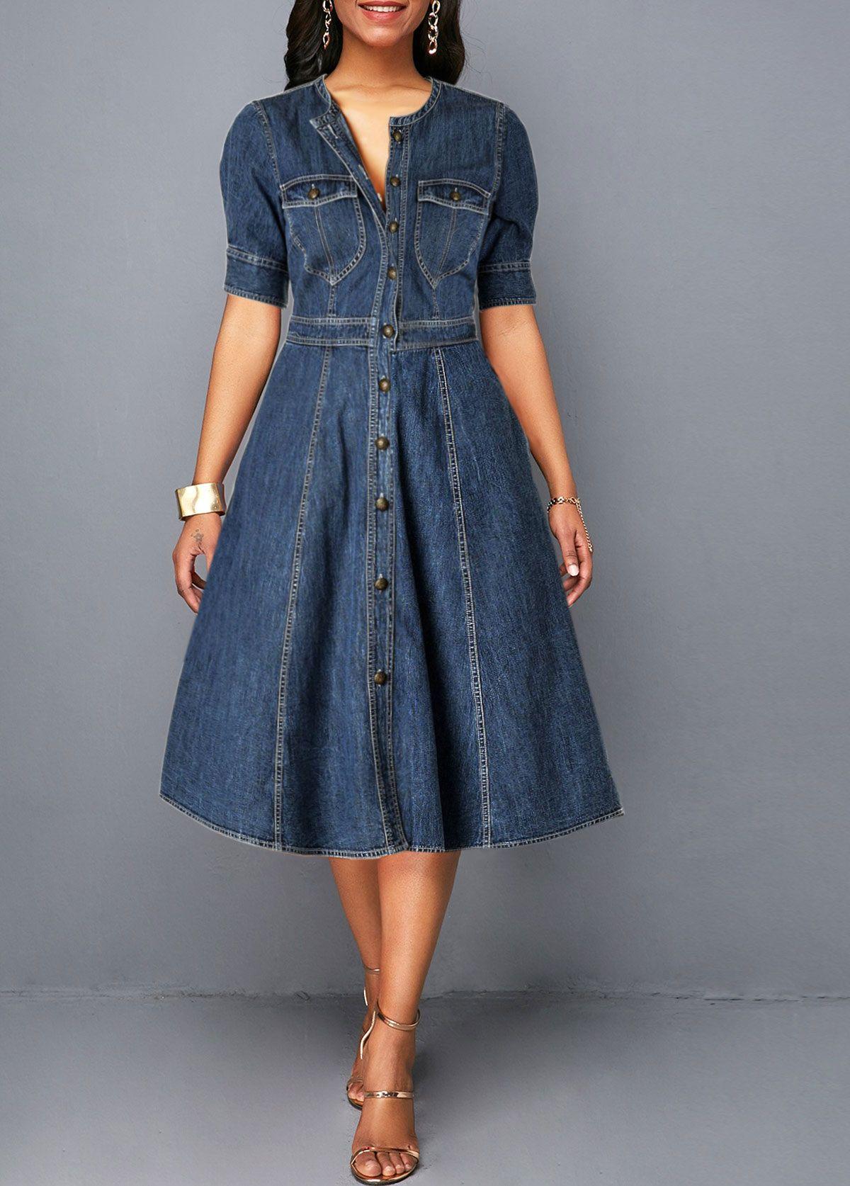 15+ Womens blue jean dress ideas in 2021