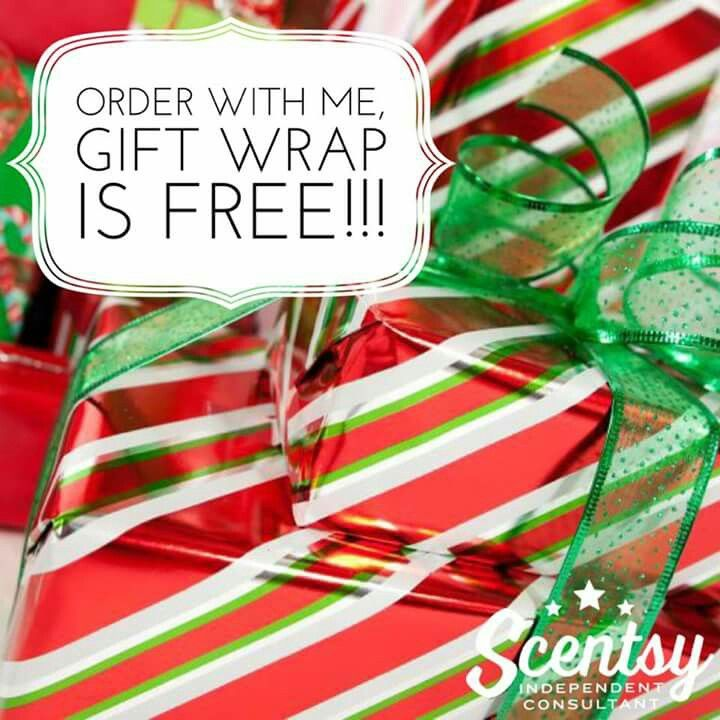 Scentsy Christmas Gifts.Free Complimentary Gift Wrapping Scentsy2018 In 2019