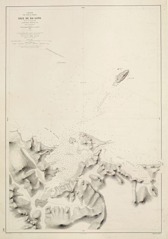 Côte Nord de Formose Map