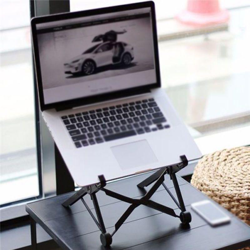 Adjustable Laptop Stand Desktop Notebook Holder PC Computer Support for Macbook