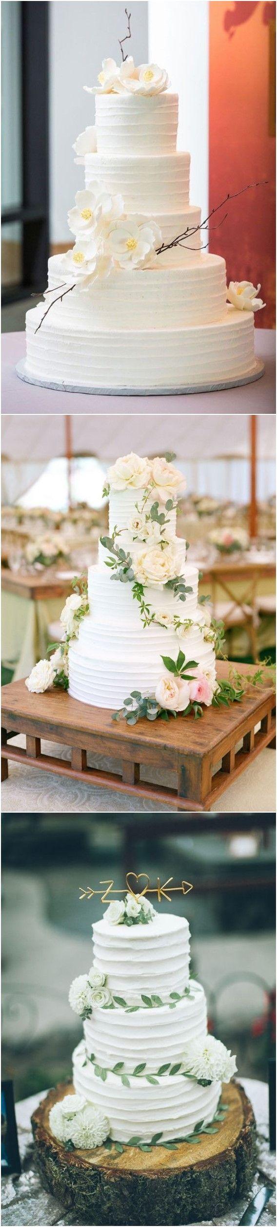 simple white wedding cakes ideas for your wedding wedding