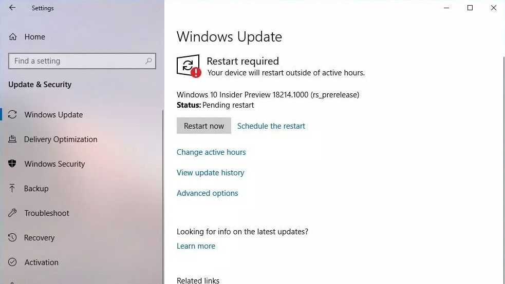 Windows 10 19h1 Build 18214 Features Change Log And Iso
