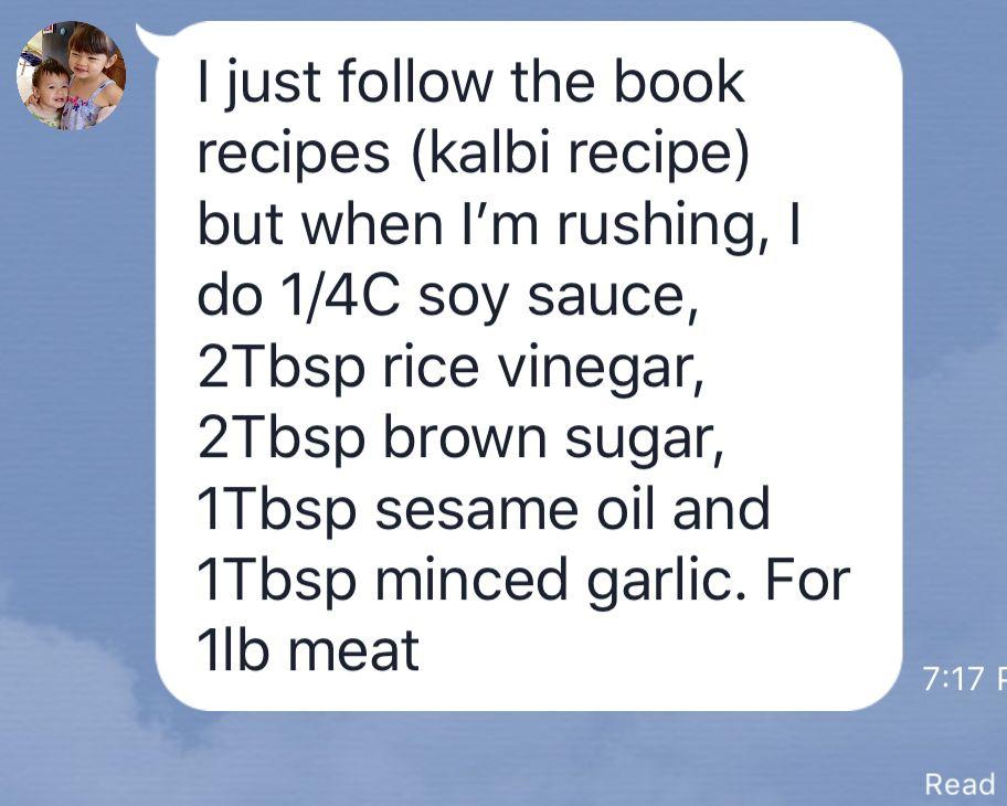 Galbi or Bulgogi   Bulgogi, Rice vinegar, Kalbi recipe