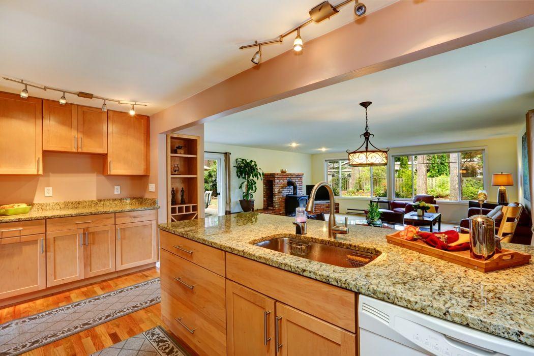 Natural Maple Shaker | Kitchen, Shaker cabinets, Kitchen ...