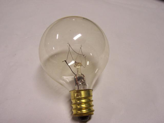 10w Candelabra Base Clear Globe Bulb 120 Volt Globe Bulb Bulb Candelabra