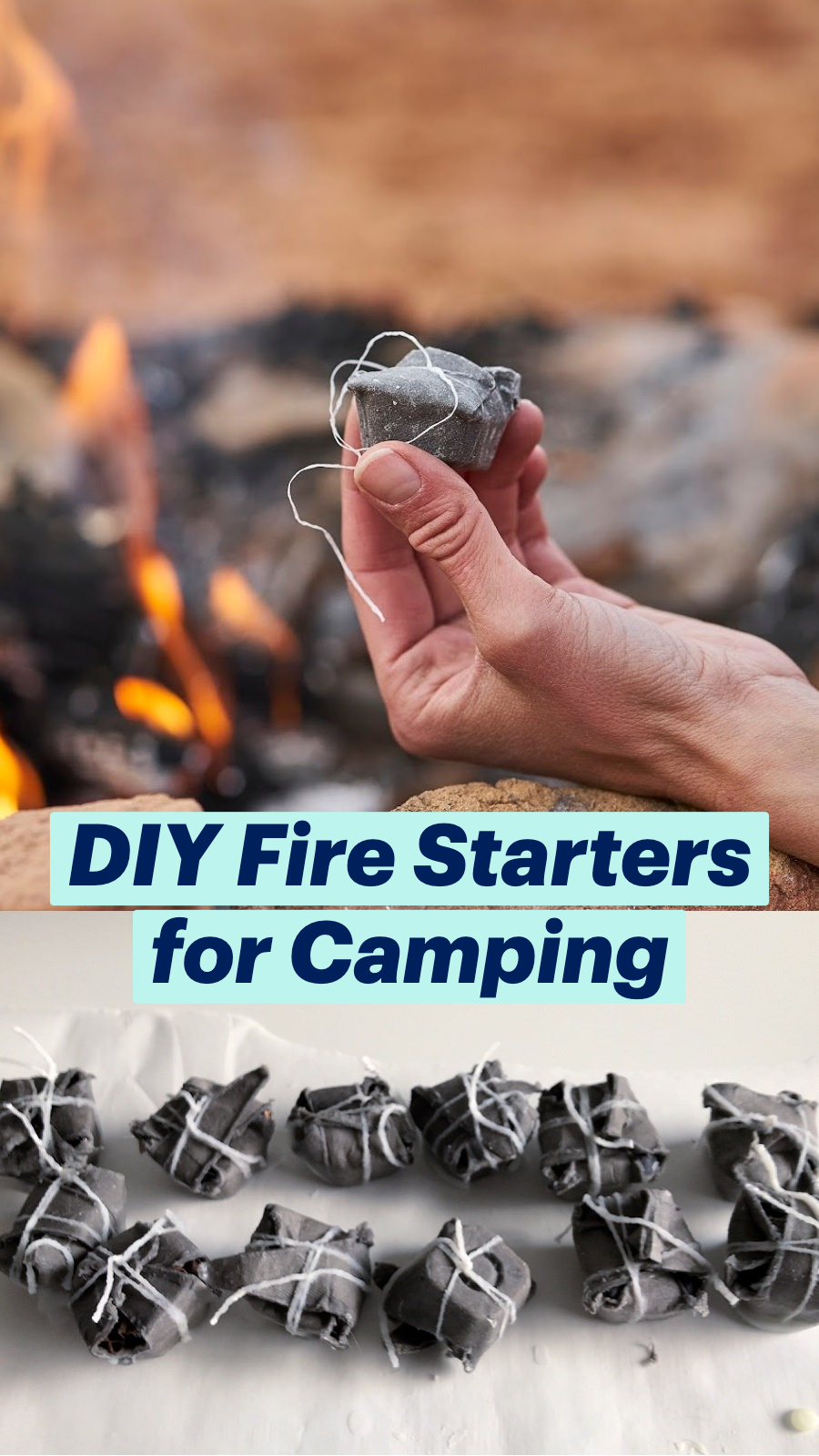 DIY Fire Starters for Camping