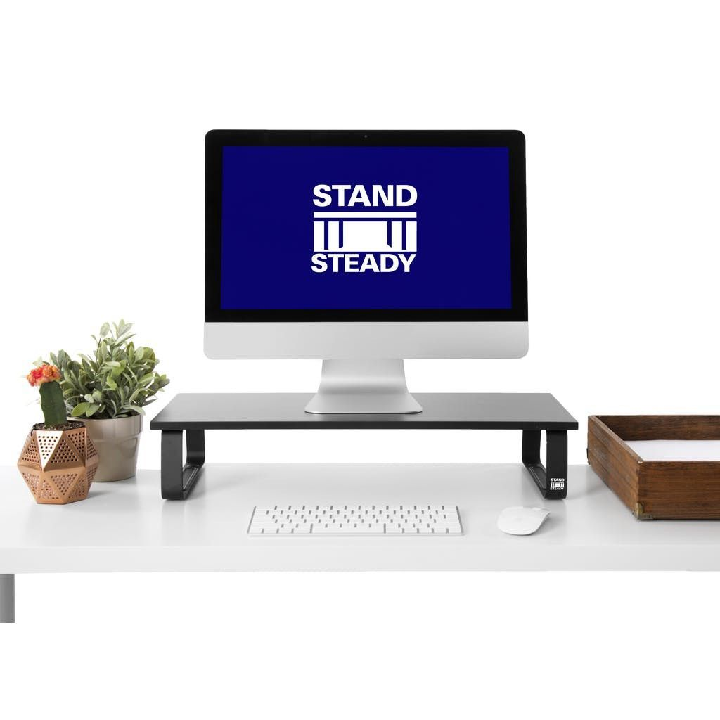 Jumbo Monitor Stand by Stand Steady/ Desk Shelf