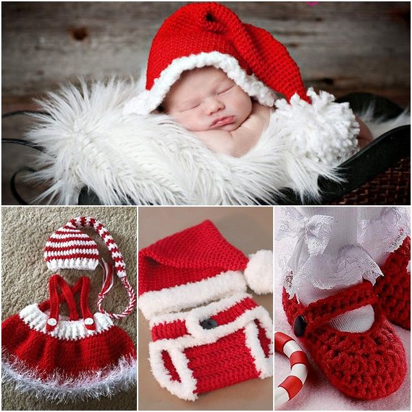 eab453fc2 These crochet baby dress and diaper sets would be so adorable for holidays  or anytime. They are cozy and special especially handmade by yourself,  which is
