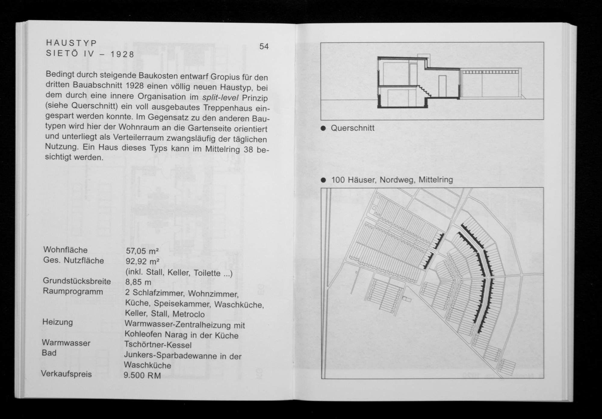 Die Siedlung Dessau-Törten 1926 bis 1931   Spector Books