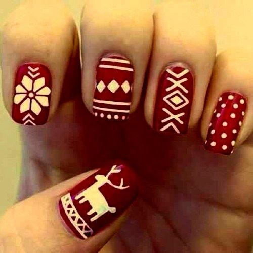 Cute Winter Nail Ideas Latest Pics