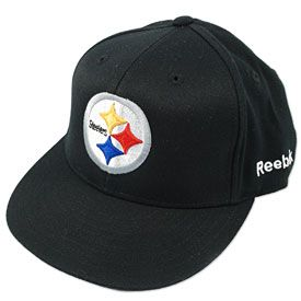 f7ce99e6 Get this Pittsburgh Steelers Red Zone Flex Fit Cap at ThePittsburghFan.com