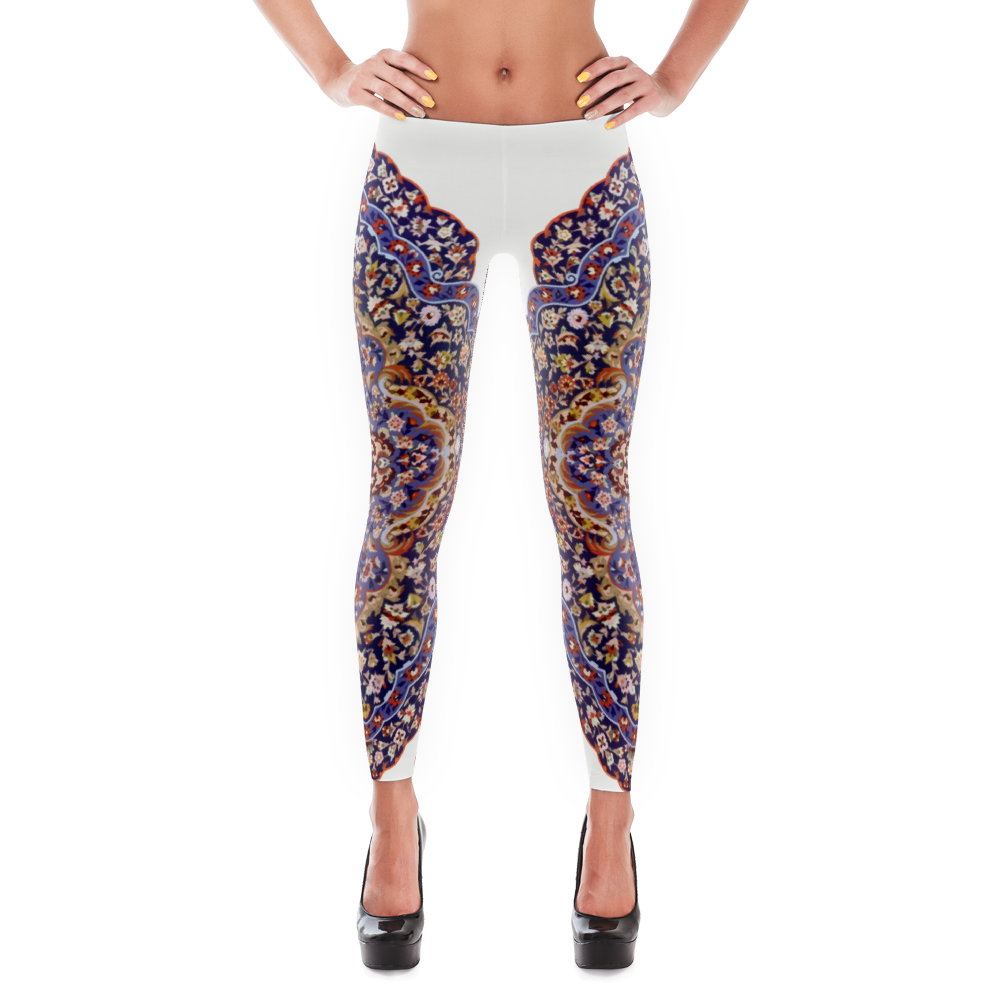 Tazhib leggings and yoga pants by Grace Moda. Stylish, durable, and a hot fashion staple. Visit us at: http://Grace.Moda