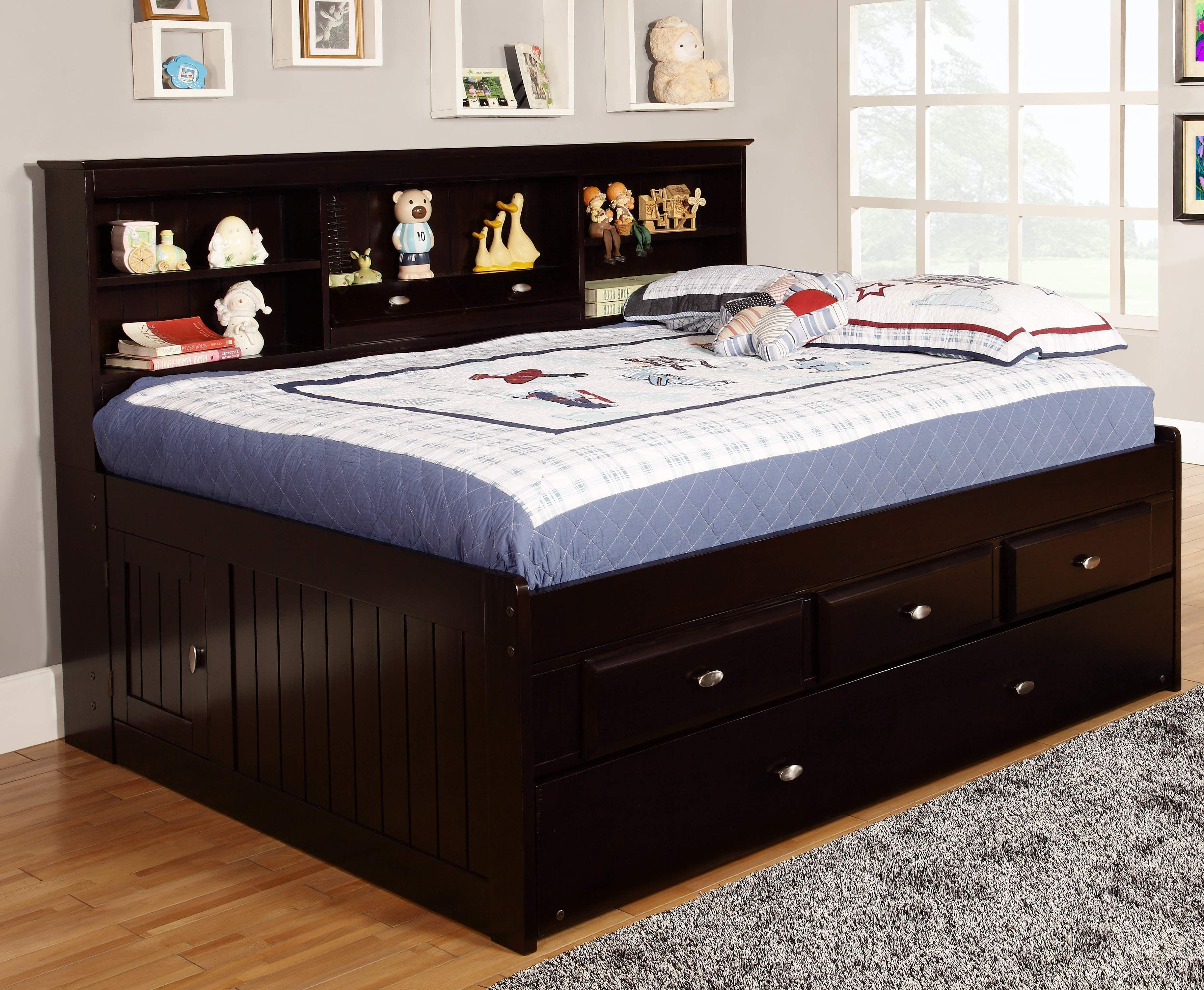 In order to design a space saving bedroom you need to