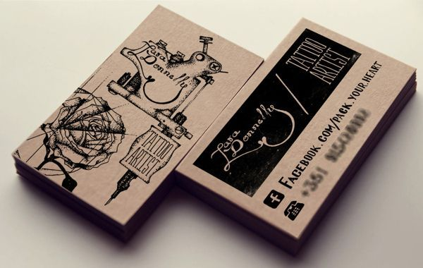 17 Best images about tattoo business cards on Pinterest | Japanese ...