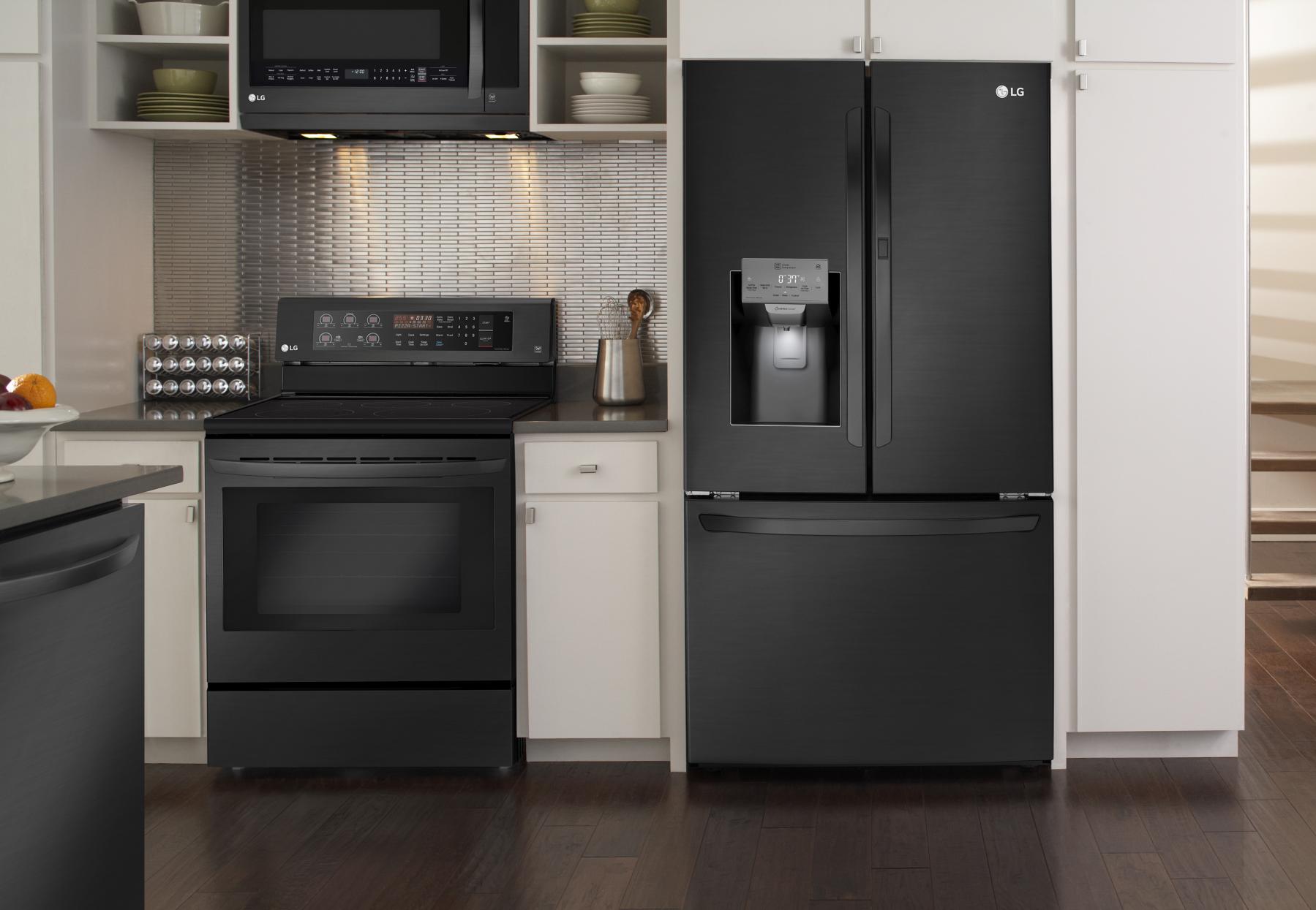 LG Smart ThinQ French Door Refrigerator | Pinterest